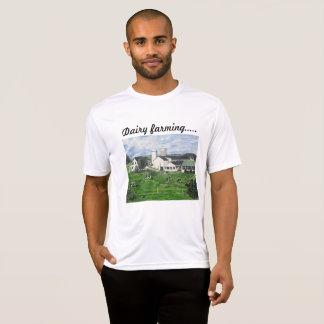 Camiseta Fazenda de leiteria