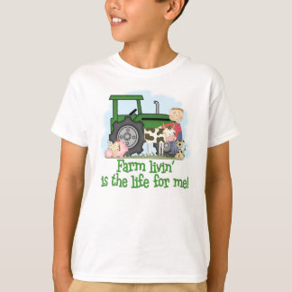 Camiseta Fazenda Livin (menino)