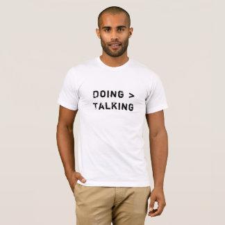 Camiseta Fazendo a fala