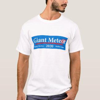 Camiseta Fazer 2020 gigante do meteoro América derretida