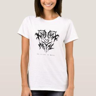 Camiseta Fazer malha é o T das mulheres do metal