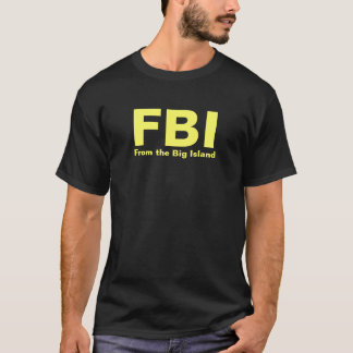 Camiseta FBI - Do t-shirt grande da ilha