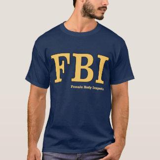 Camiseta FBI: Inspector do corpo fêmea