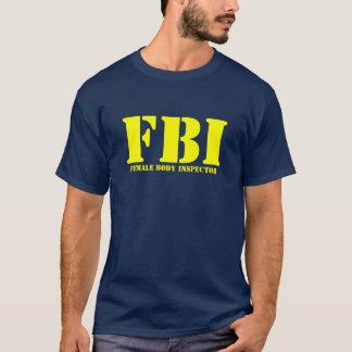 Camiseta FBI - Inspector do corpo fêmea