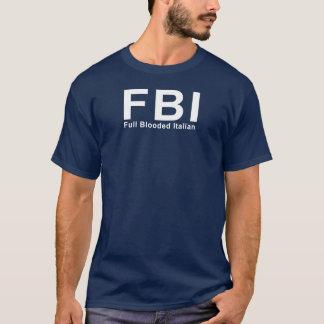 Camiseta FBI (italiano completo de Blooded)