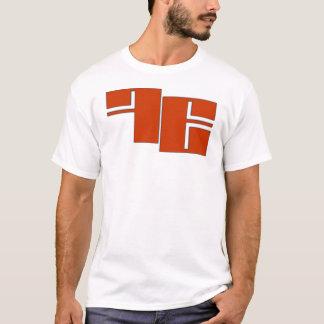 Camiseta FE de FLEXECHO Dianteiro-E-Para trás