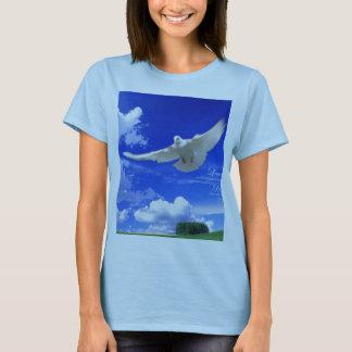 Camiseta Fé no prado da pomba