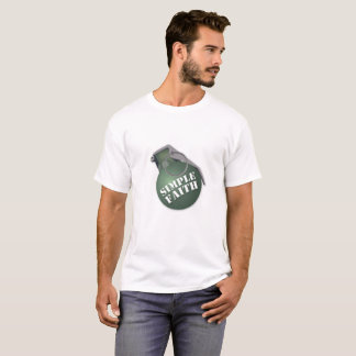 Camiseta Fé simples