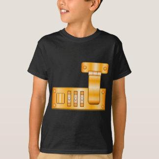 Camiseta Fechamento da mala de viagem