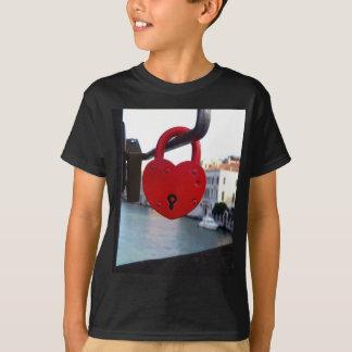 Camiseta fechamento do amor em Veneza