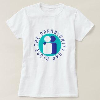 Camiseta Feche a luz da reforma da educação de Gap da