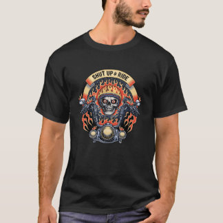 Camiseta Feche acima & o passeio -11116