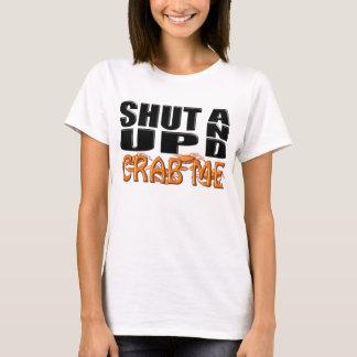Camiseta FECHE-ME ACIMA E CRAB (os caranguejos)