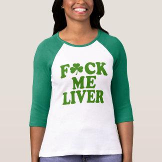 Camiseta Feck mim irlandês engraçado do fígado