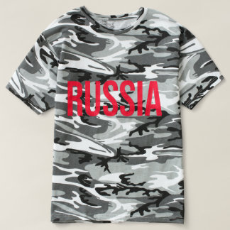 Camiseta Federação Russa Putin KGB РоссияРусский de Rússia