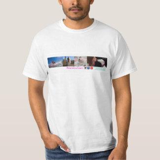 Camiseta Feijões do seguidor do Twitter o Whippet T