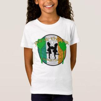Camiseta Feis no t-shirt da boneca da menina justa