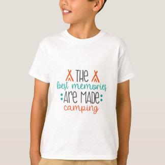Camiseta feito acampamento