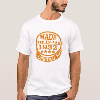 Camiseta Feito em 1932 todas as peças do original