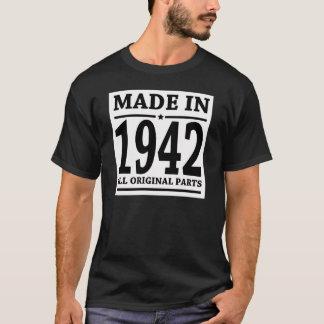 CAMISETA FEITO EM 1942 TODAS AS PEÇAS DO ORIGINAL