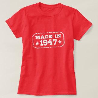 Camiseta Feito em 1947