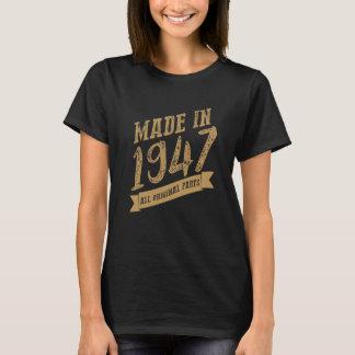 Camiseta Feito em 1947 todas as peças do original!