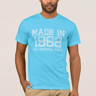 Camiseta FEITO em 1962 todo o T ORIGINAL das peças