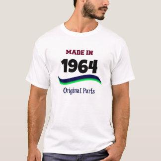 Camiseta Feito em 1964, peças originais