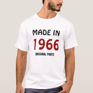 Camiseta Feito em 1966, peças originais