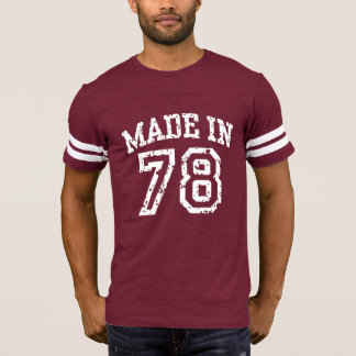 Camiseta Feito em 78