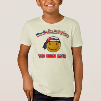 Camiseta Feito em América com parte cubana