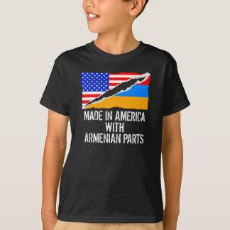 Camiseta Feito em América com peças arménias