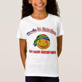 Camiseta Feito em América com sul - parte africana
