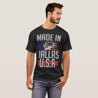 Camiseta feito em Dallas EUA