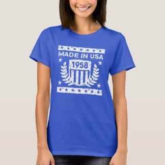 Camiseta Feito em EUA 1958