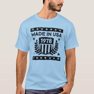 Camiseta Feito em EUA 1978