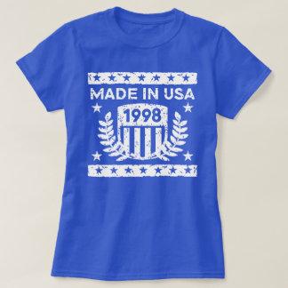 Camiseta Feito em EUA 1998