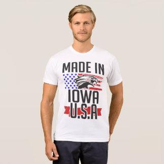 Camiseta feito em iowa EUA