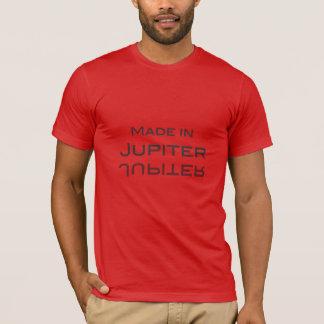 Camiseta Feito em Jupiter - feito no Reino Unido