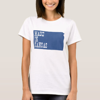 Camiseta Feito em Kansas
