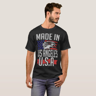 Camiseta feito em Los Angeles EUA