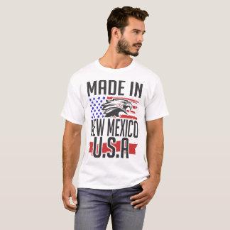 Camiseta feito em New mexico EUA