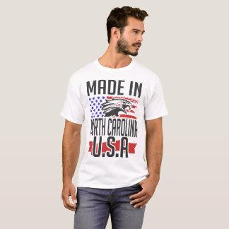 Camiseta feito em North Carolina EUA