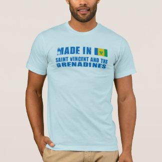 Camiseta Feito em São Vicente e Granadinas