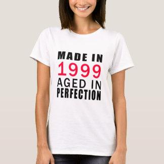 Camiseta Feito envelhecido em 1999 na perfeição
