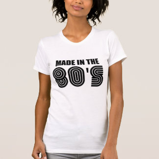 Camiseta feito no anos 80