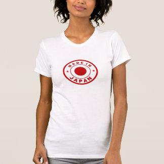 Camiseta feito no selo redondo da etiqueta da bandeira de
