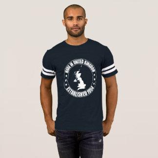 Camiseta Feito no t-shirt 1954 do futebol de Reino Unido