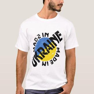 Camiseta Feito no t-shirt dos homens de Ucrânia