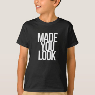 Camiseta Feito o olhar